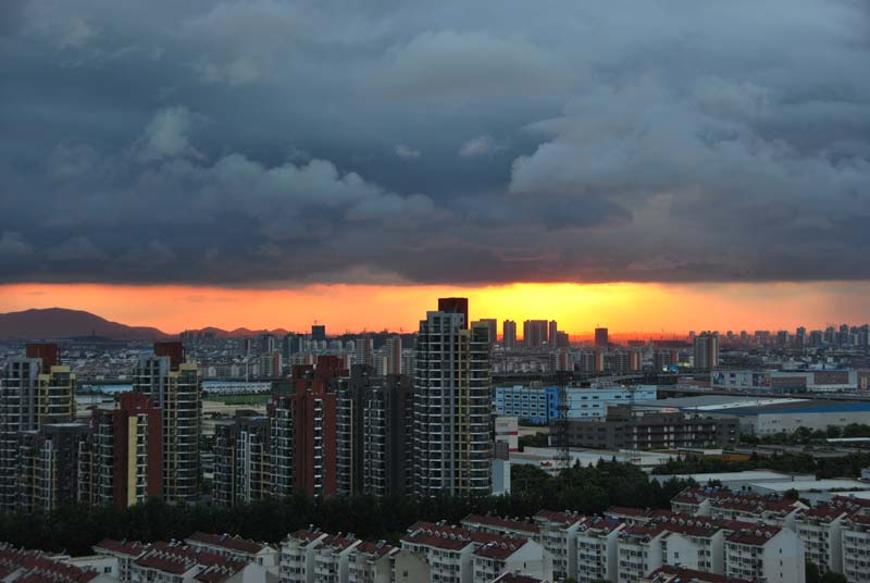 Sunset in Suzhou